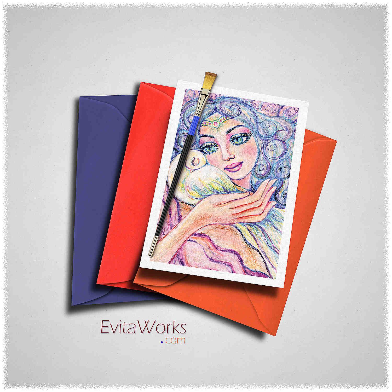 Angel 03 Card ~ EvitaWorks