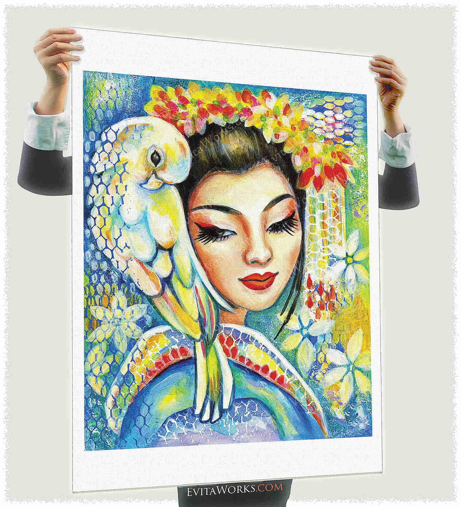 Geisha 01 Page2 ~ EvitaWorks