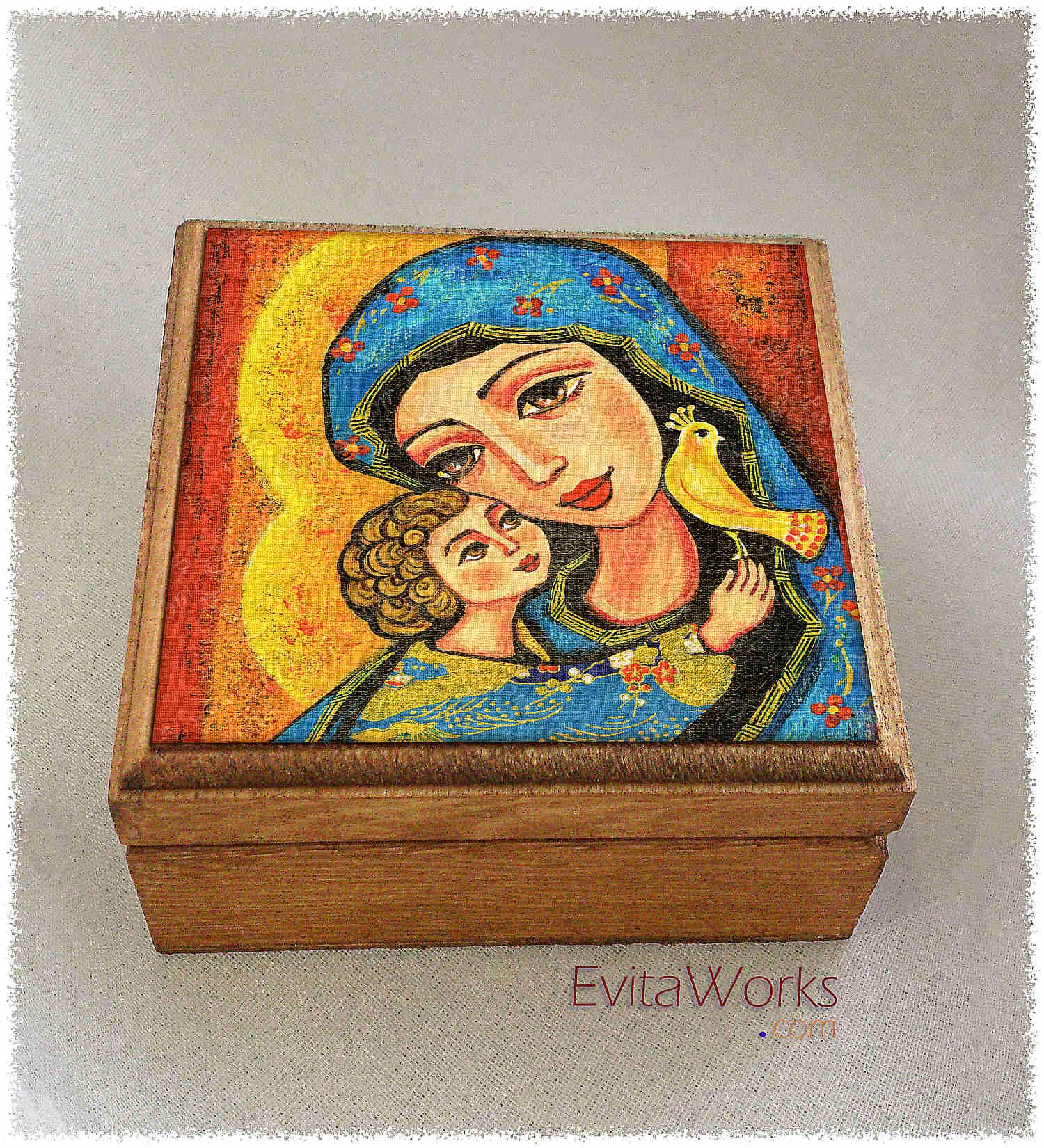 Mother Child 07 Boxsq ~ EvitaWorks