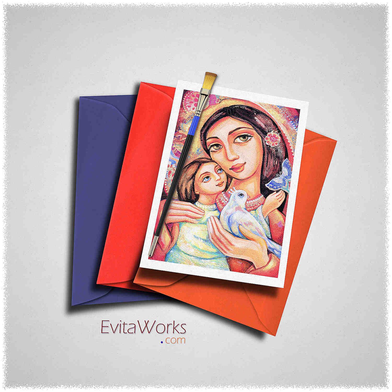 Mother Child 10 Card ~ EvitaWorks
