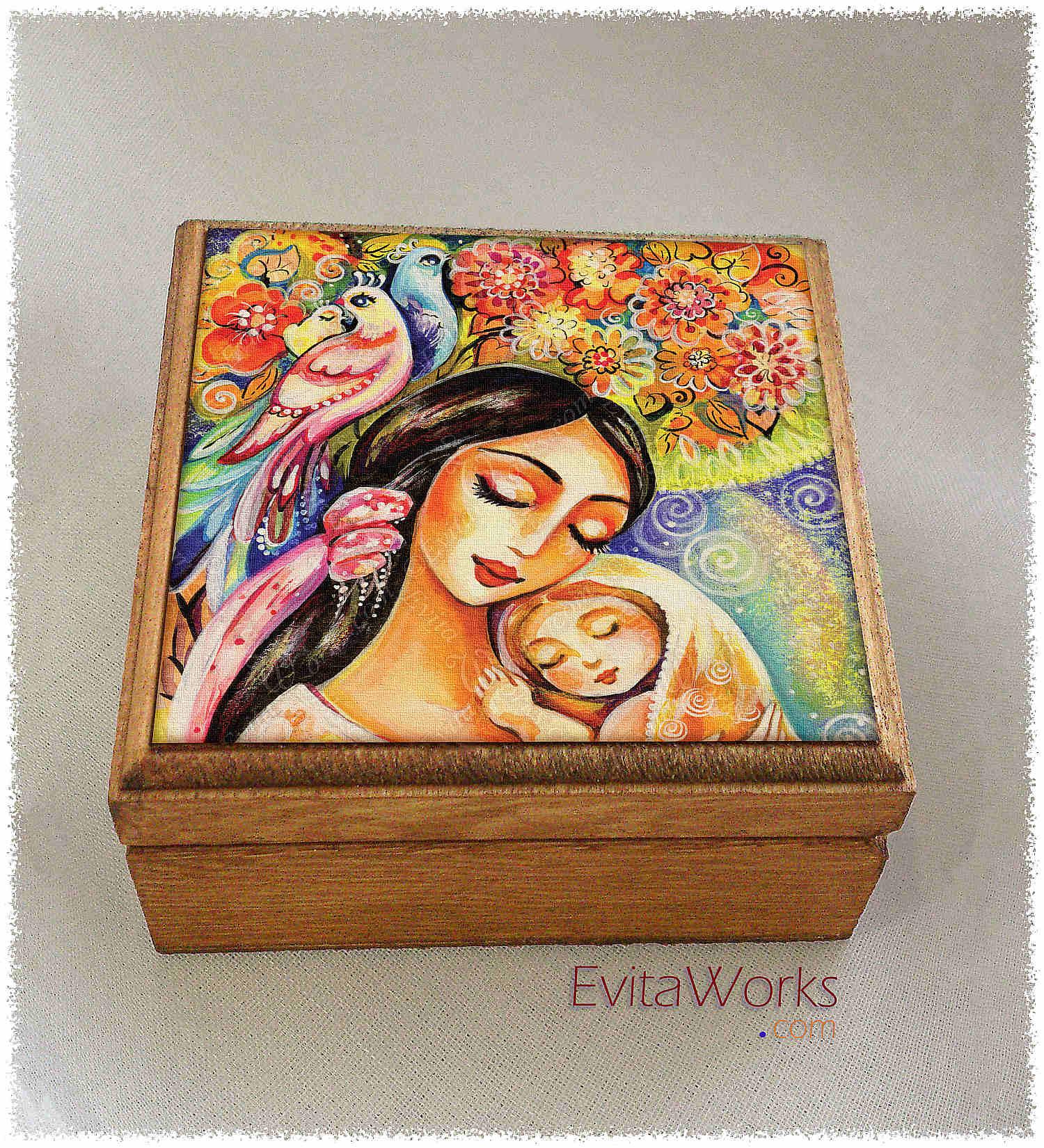 Mother Child 11 Boxsq ~ EvitaWorks
