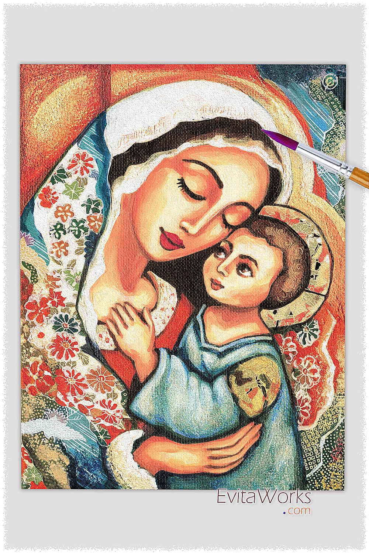 Mother Child 12 ~ EvitaWorks