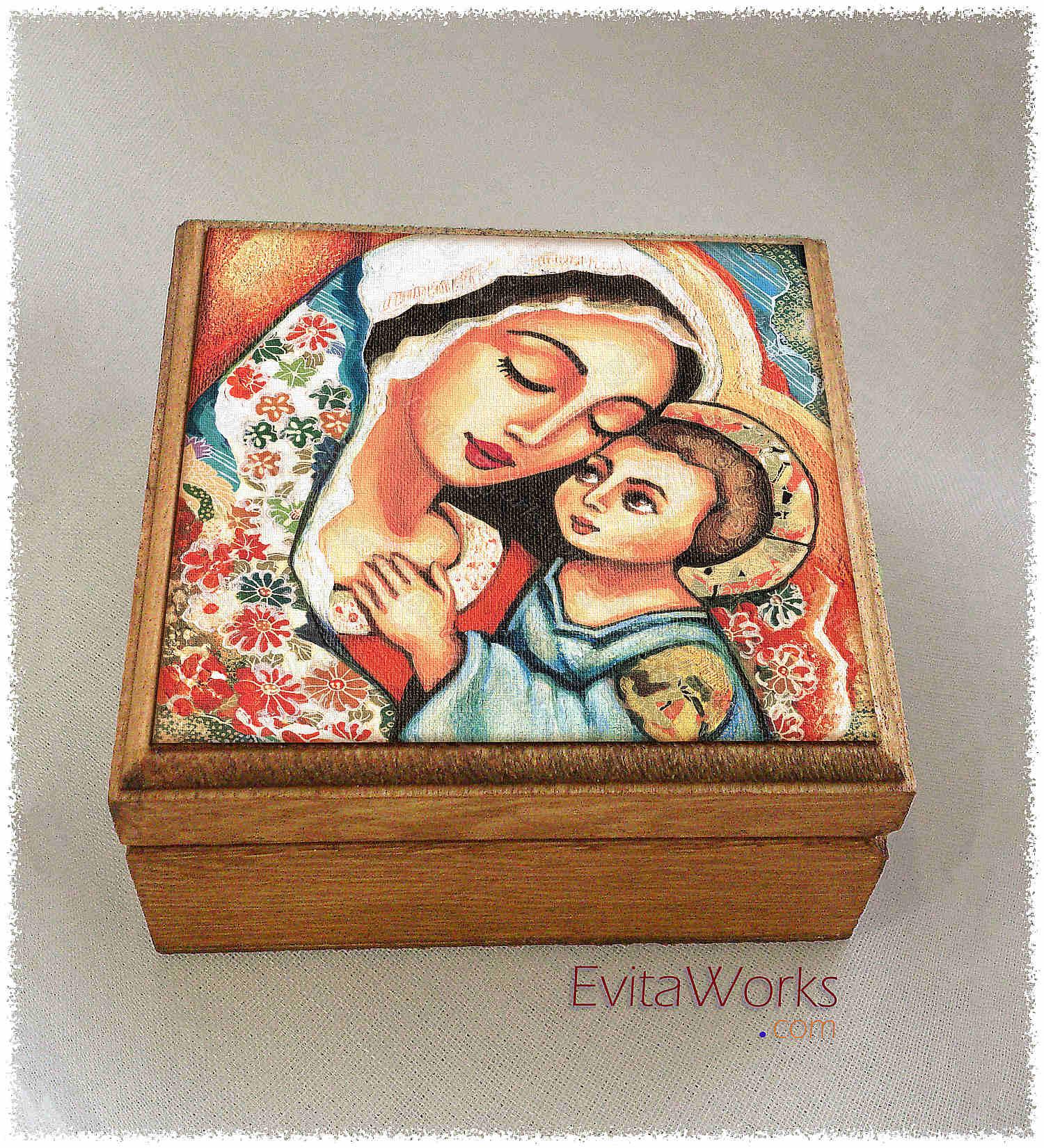 Mother Child 12 Boxsq ~ EvitaWorks