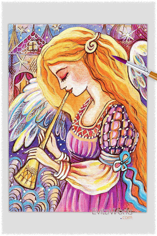 Angel 28 ~ EvitaWorks