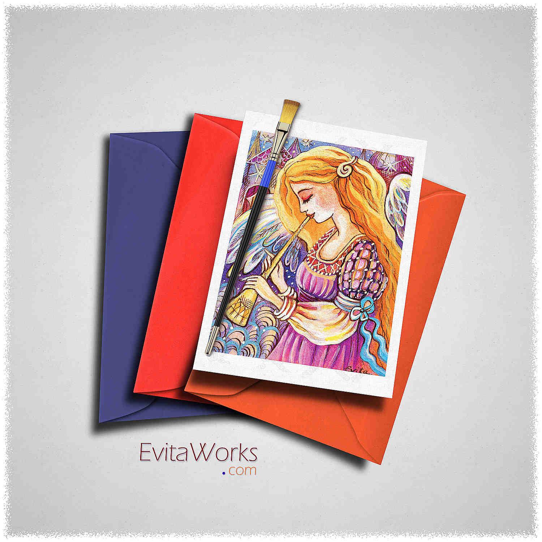Angel 28 Card ~ EvitaWorks