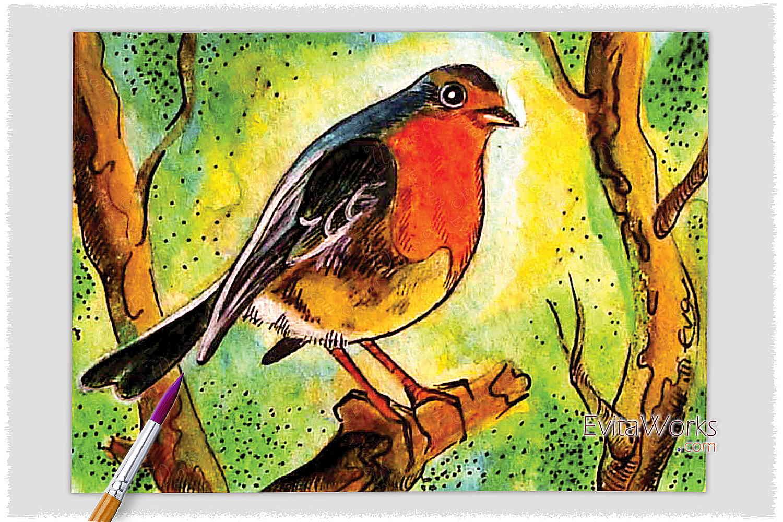 Bird 06 ~ EvitaWorks