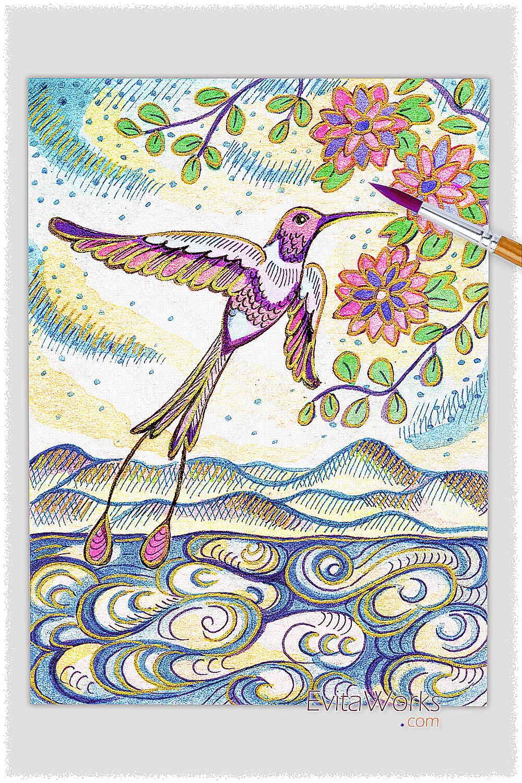 Bird 12 ~ EvitaWorks
