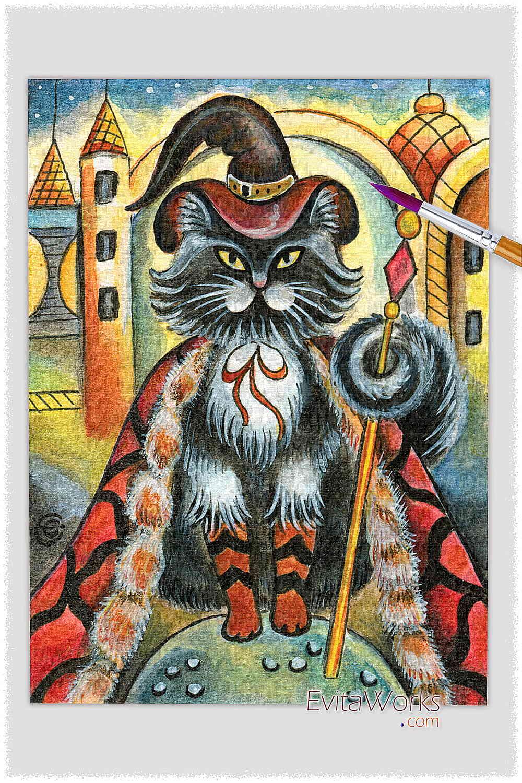 Cat 09 ~ EvitaWorks