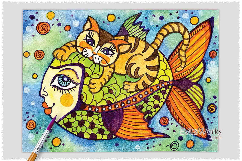 Cat 23 ~ EvitaWorks