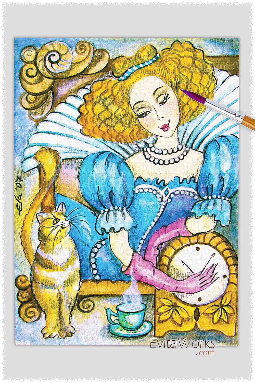 Cat Lady 02 ~ EvitaWorks