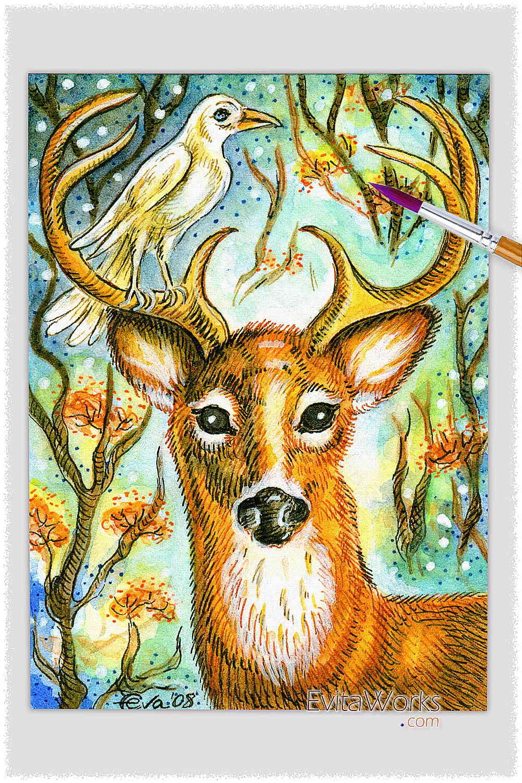 Deer 01 ~ EvitaWorks