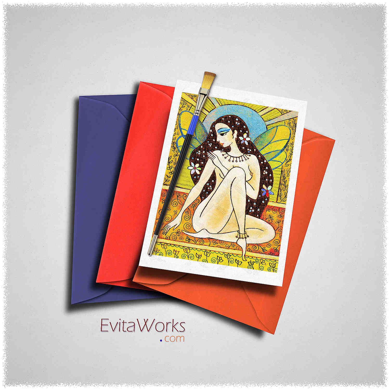 Fairy 58 Card ~ EvitaWorks