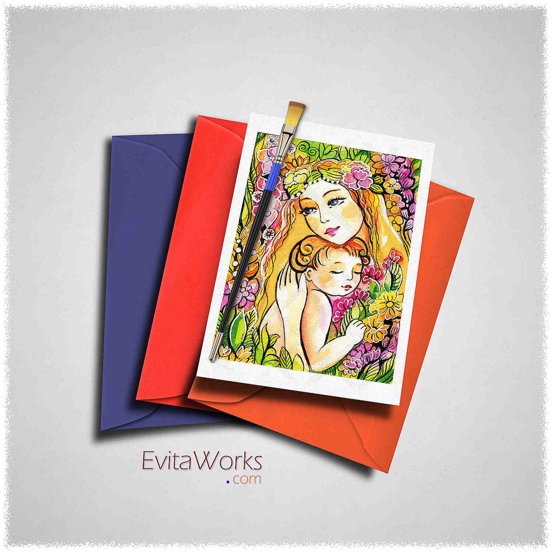 Fairy 85 Card ~ EvitaWorks