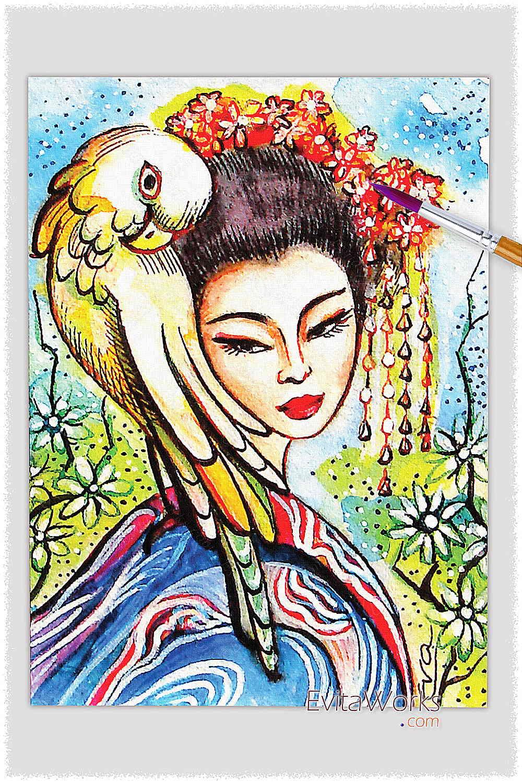 Geisha 02 ~ EvitaWorks