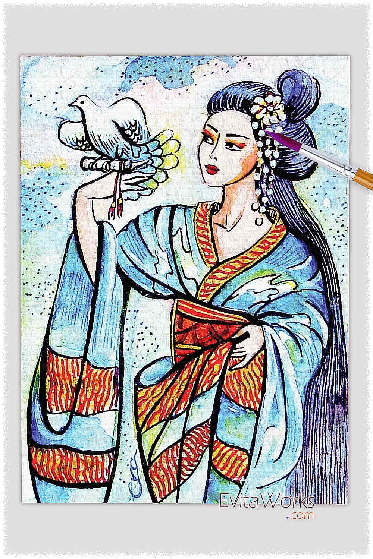 Geisha 04 ~ EvitaWorks