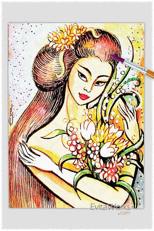 Geisha 09 ~ EvitaWorks