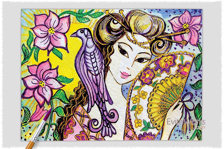 Geisha 21 ~ EvitaWorks