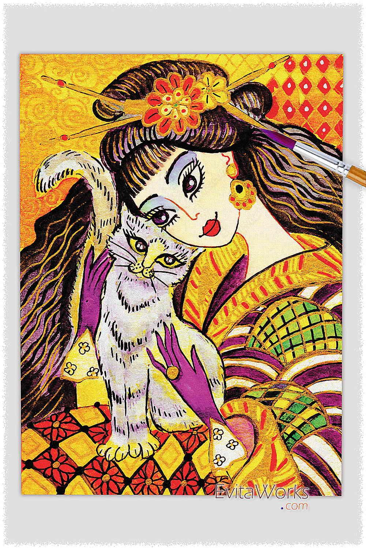 Geisha 27 ~ EvitaWorks