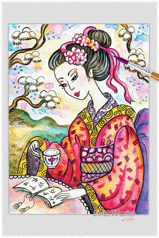 Geisha 30 ~ EvitaWorks
