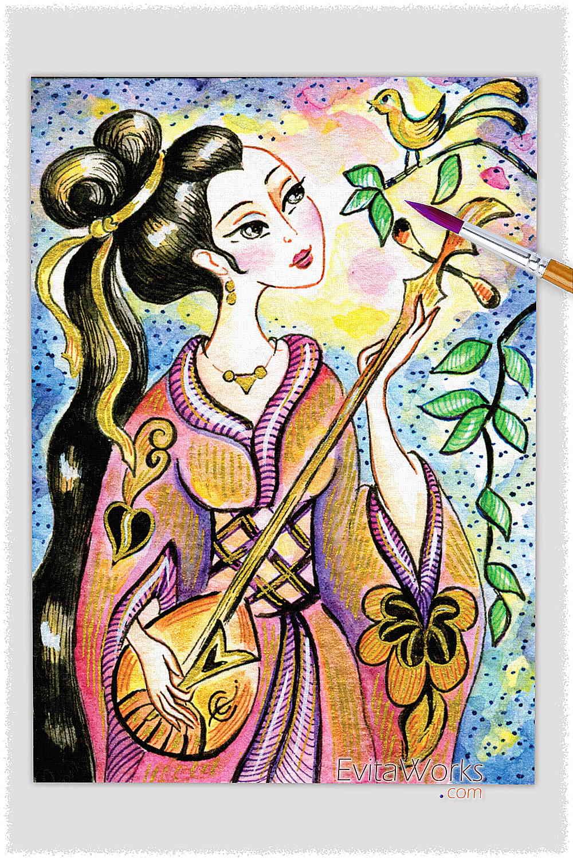 Geisha 32 ~ EvitaWorks