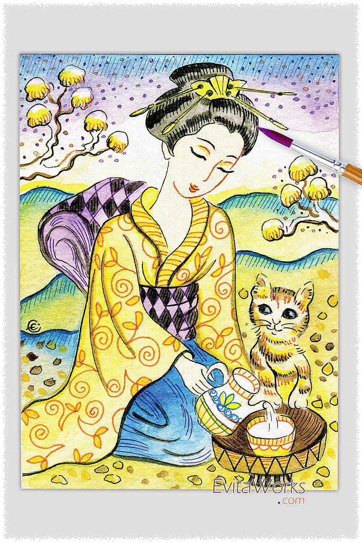Geisha 33 ~ EvitaWorks