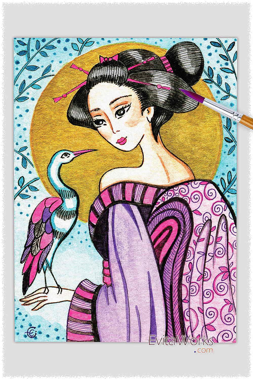 Geisha 38 ~ EvitaWorks