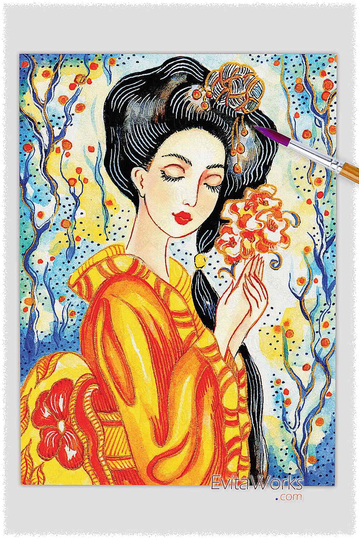 Geisha 43 ~ EvitaWorks