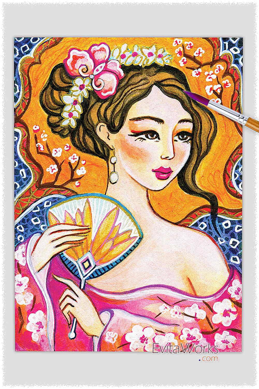 Geisha 50 ~ EvitaWorks