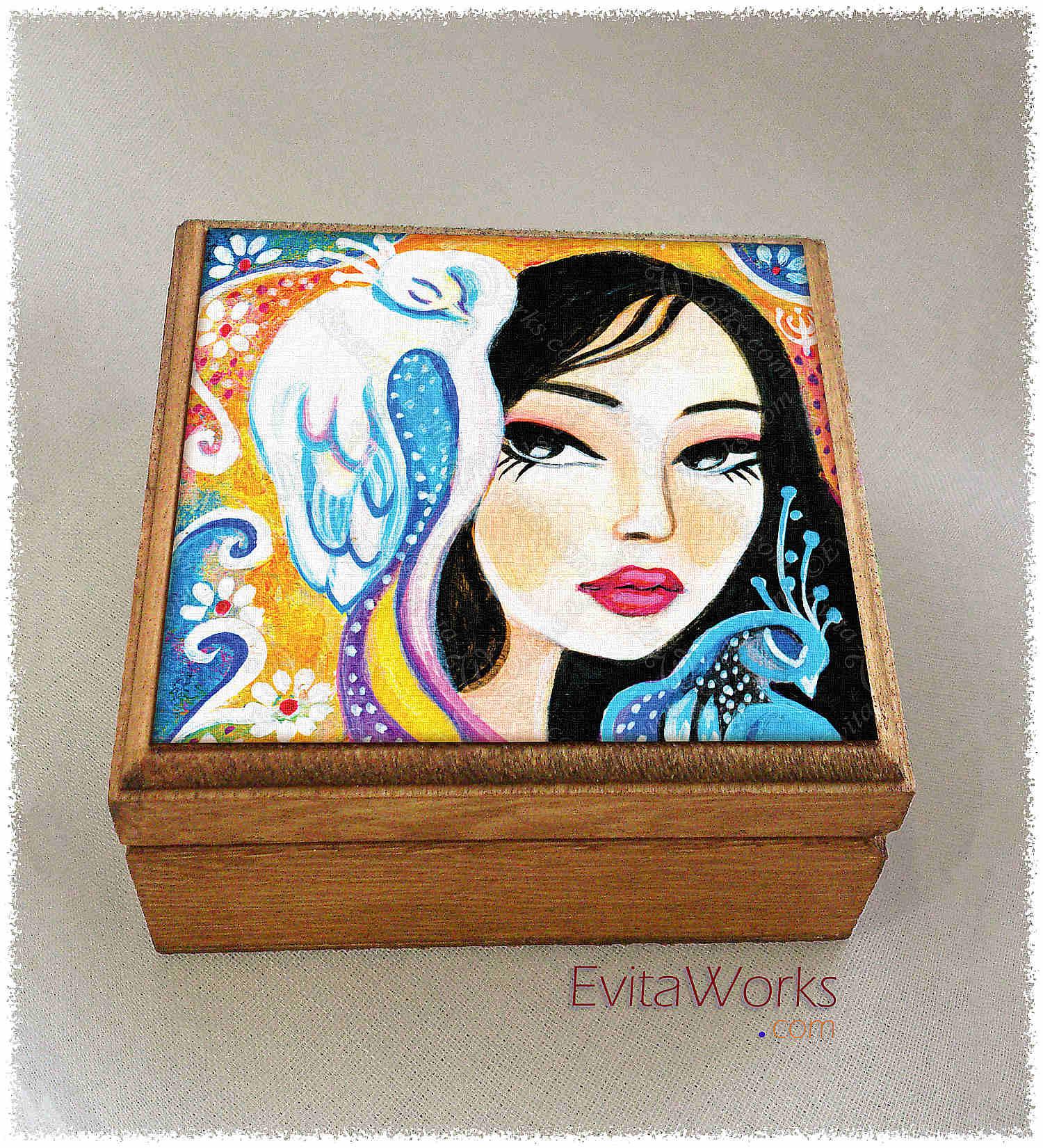 Geisha 51 Boxsq ~ EvitaWorks