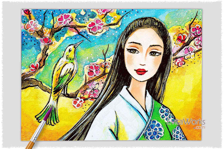 Geisha 59 ~ EvitaWorks