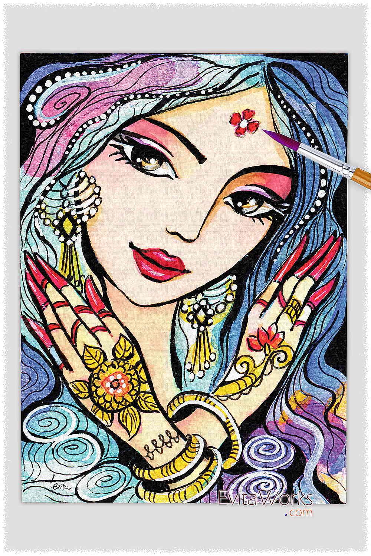 Indian Woman 03 ~ EvitaWorks