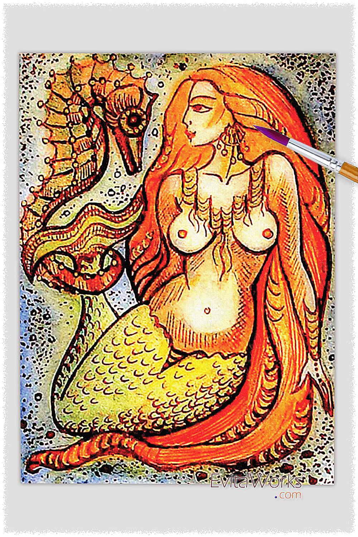 Mermaid 05 ~ EvitaWorks