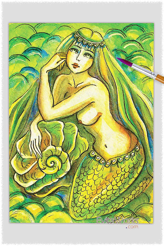 Mermaid 19 ~ EvitaWorks