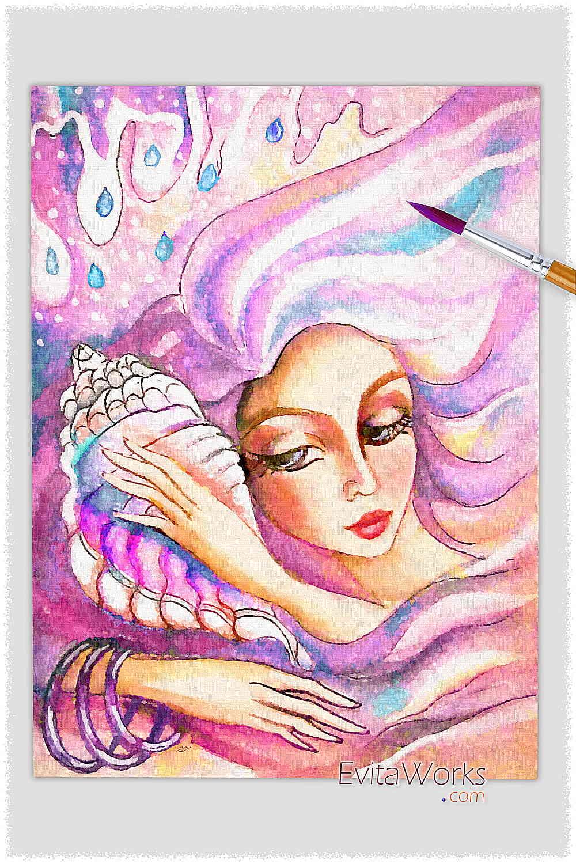 Mermaid 23 ~ EvitaWorks