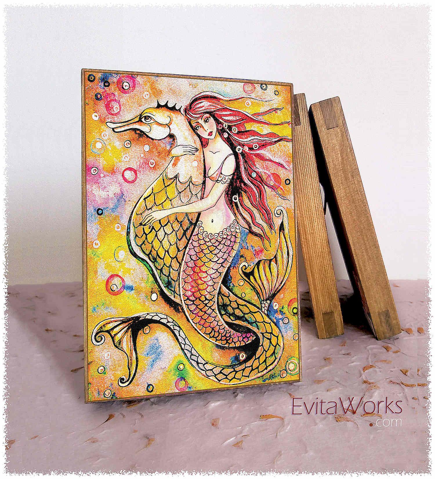 Mermaid 25 Block1 ~ EvitaWorks