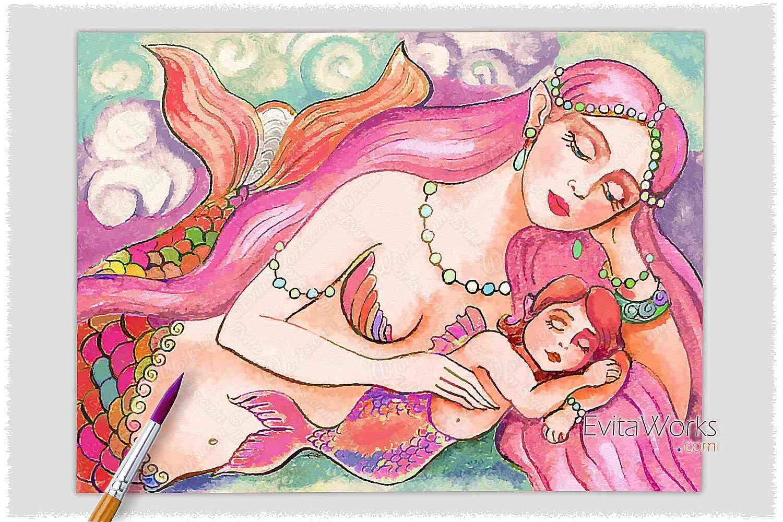 Mermaid 28 ~ EvitaWorks