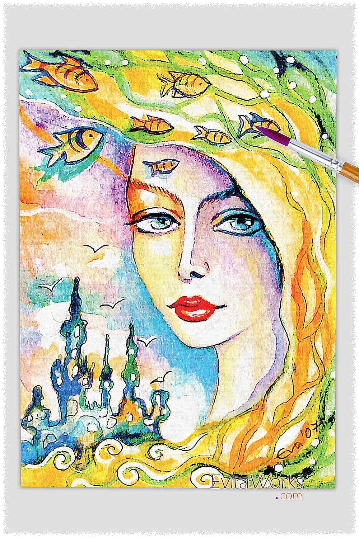 Mermaid 31 ~ EvitaWorks