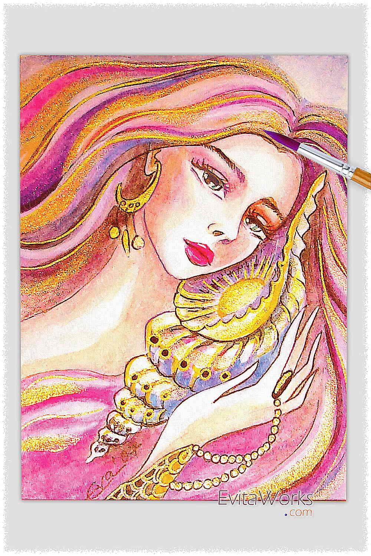 Mermaid 36 ~ EvitaWorks