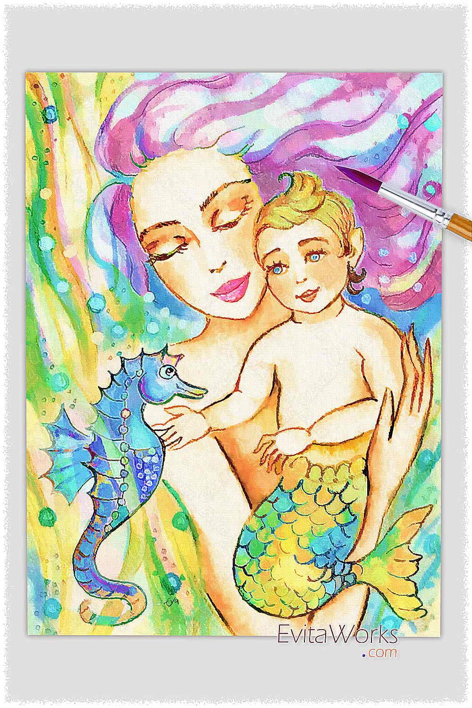 Mermaid 40 ~ EvitaWorks