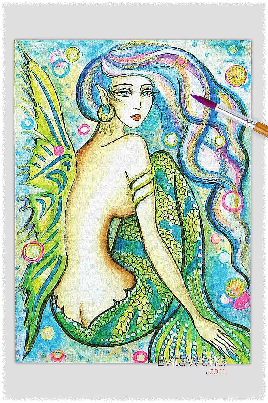 Mermaid 41 ~ EvitaWorks