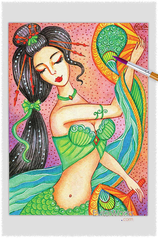 Mermaid 58 ~ EvitaWorks