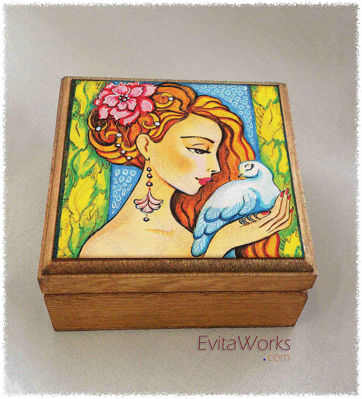 Mermaid 61 Boxsq ~ EvitaWorks