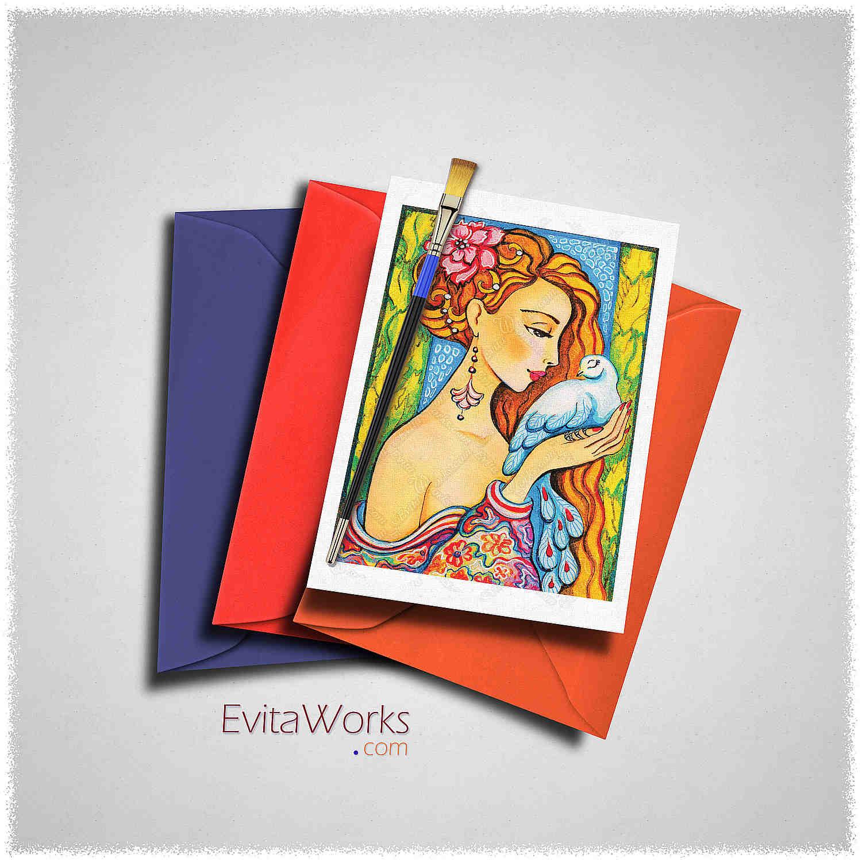Mermaid 61 Card ~ EvitaWorks