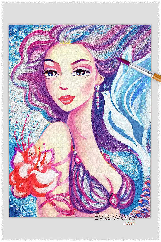 Mermaid 69 ~ EvitaWorks