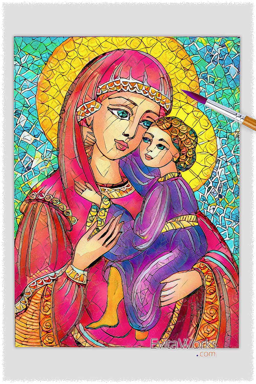 Mother Child 09 ~ EvitaWorks