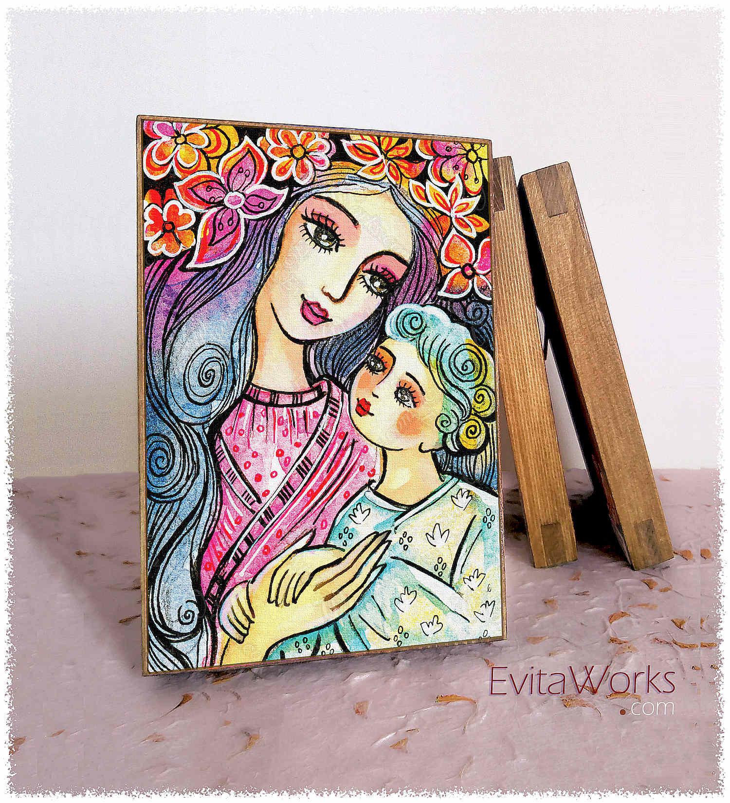 Mother Child 15 Block2 ~ EvitaWorks