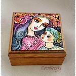Mother Child 15 Boxsq ~ EvitaWorks