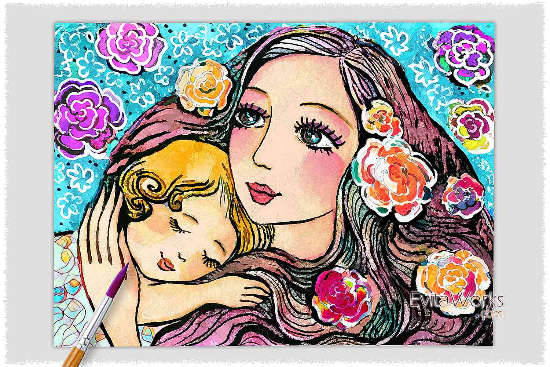 Mother Child 17 ~ EvitaWorks
