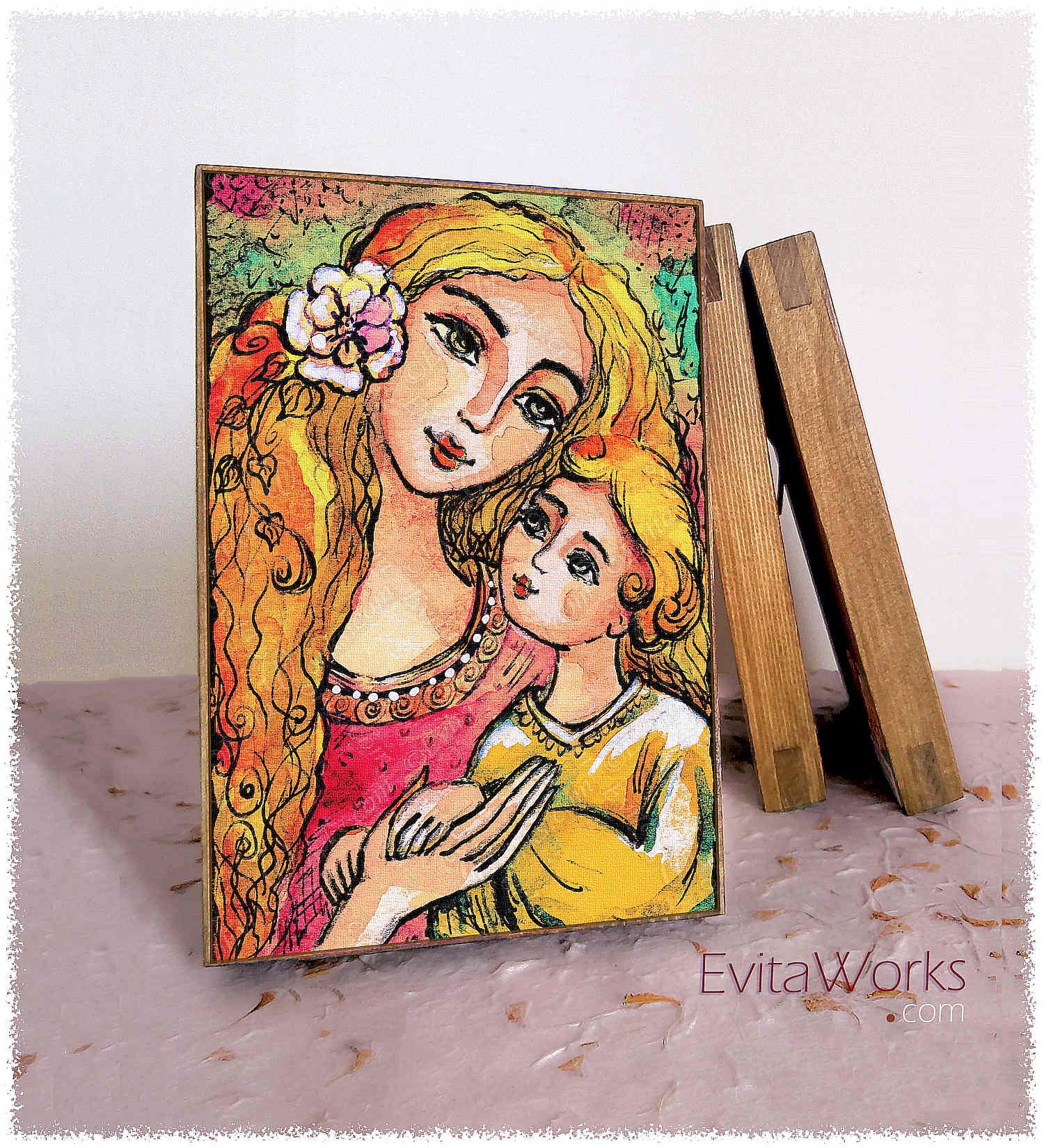 Mother Child 20 Block1 ~ EvitaWorks