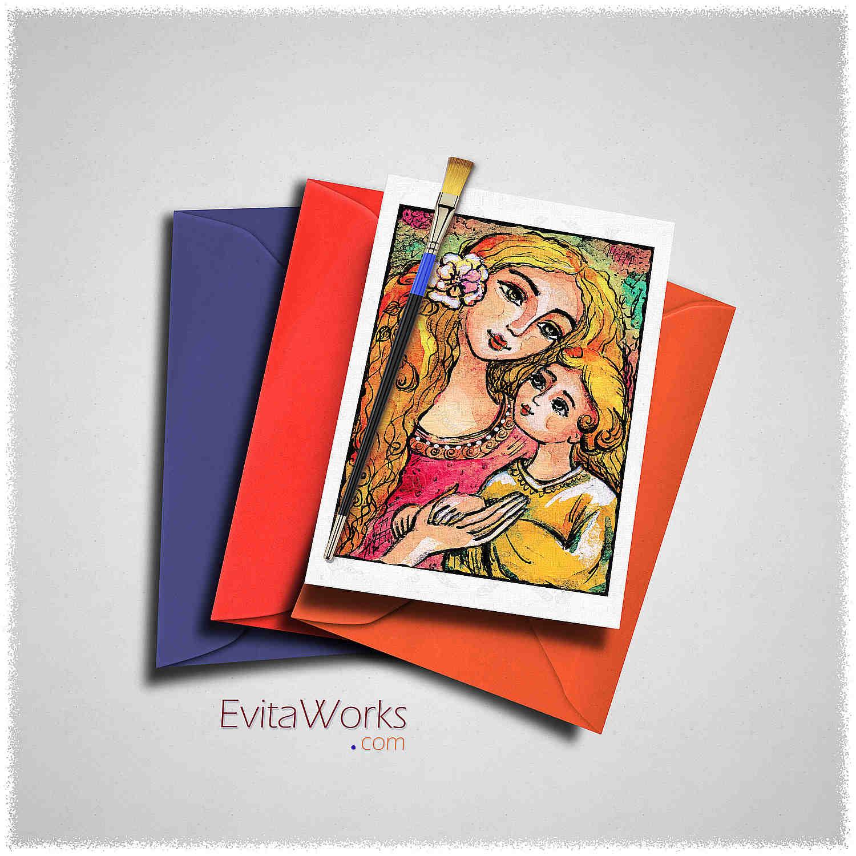 Mother Child 20 Card ~ EvitaWorks